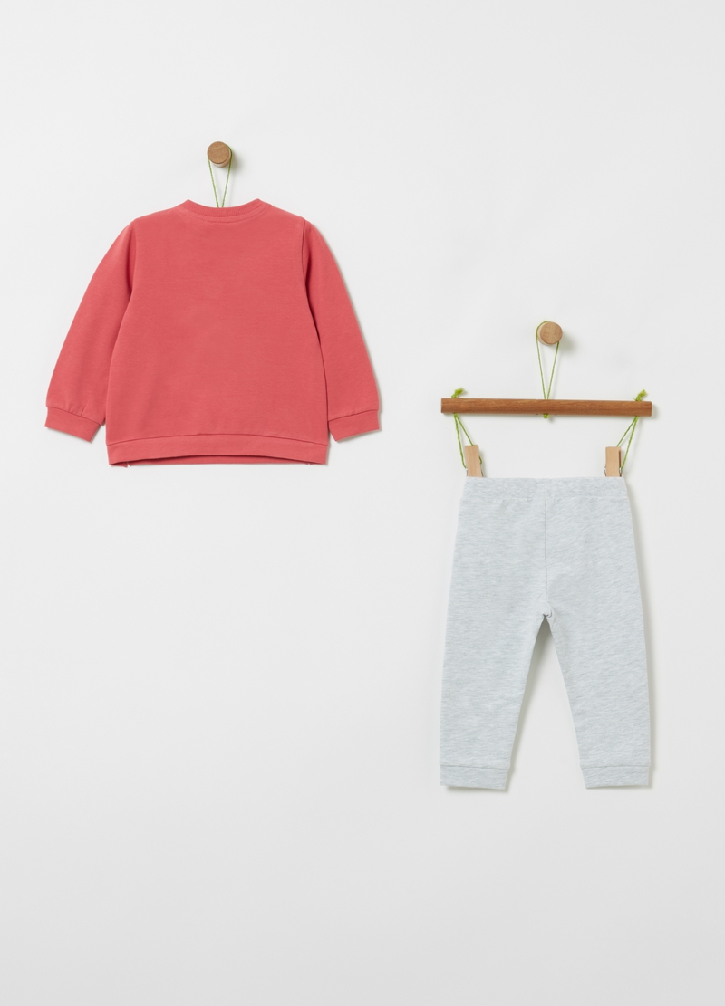 Jogging set in French Terry image number null