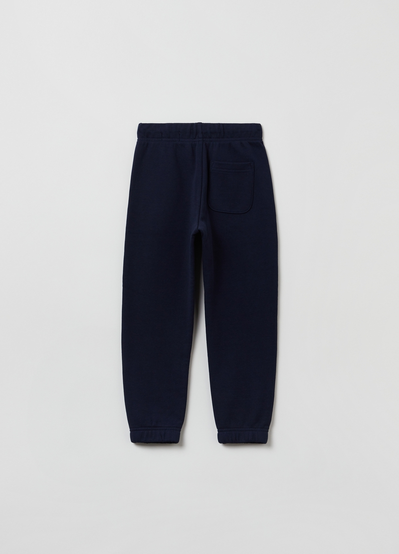 Joggers in French Terry con coulisse image number null