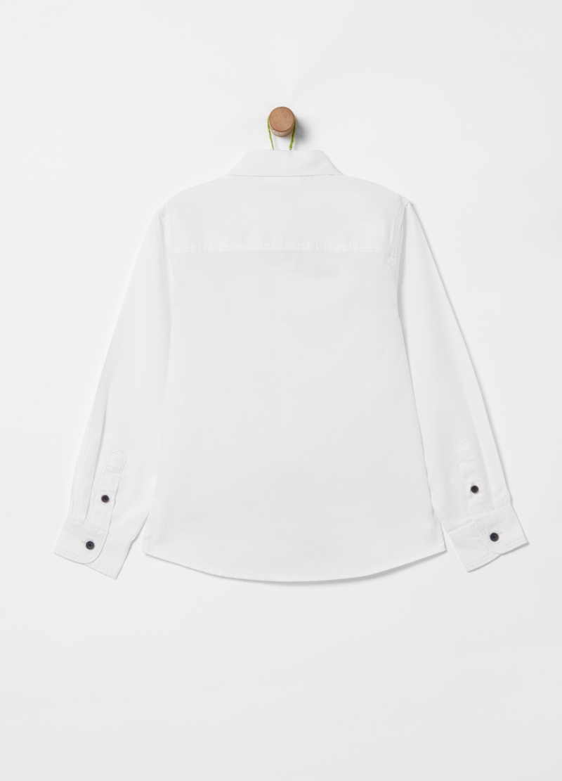 100% cotton shirt with pockets image number null