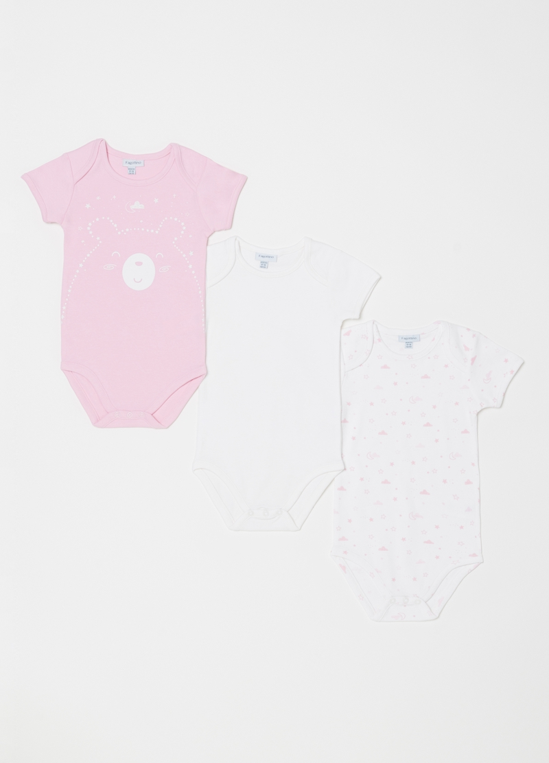 Set tre body puro biocotton girocollo image number null