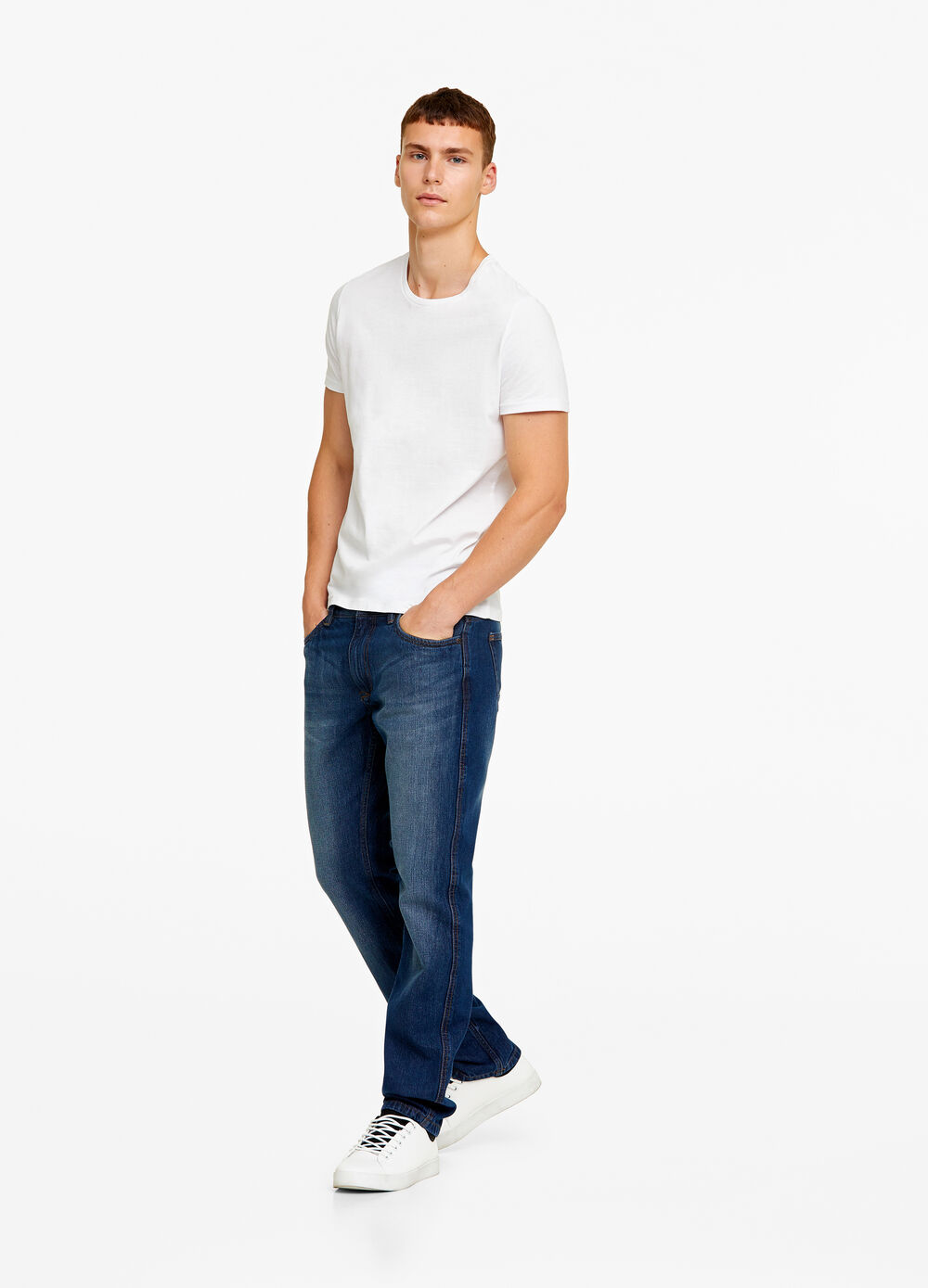 Jeans regular fit washed-out