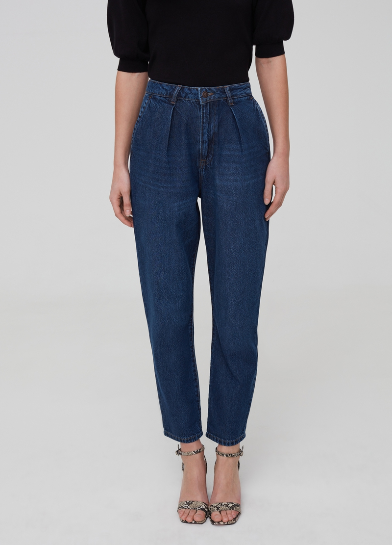 Slim-fit boyfriend jeans image number null