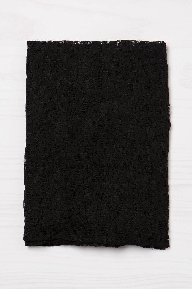 Solid colour scarf in viscose blend