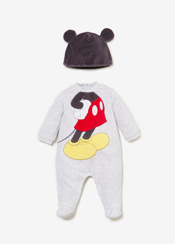 Mickey Mouse onesie and T-shirt outfit