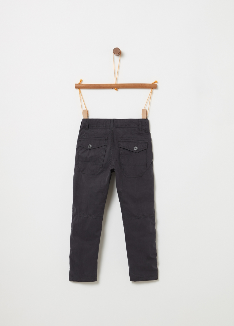 Pantaloni chino slim fit con tasche image number null