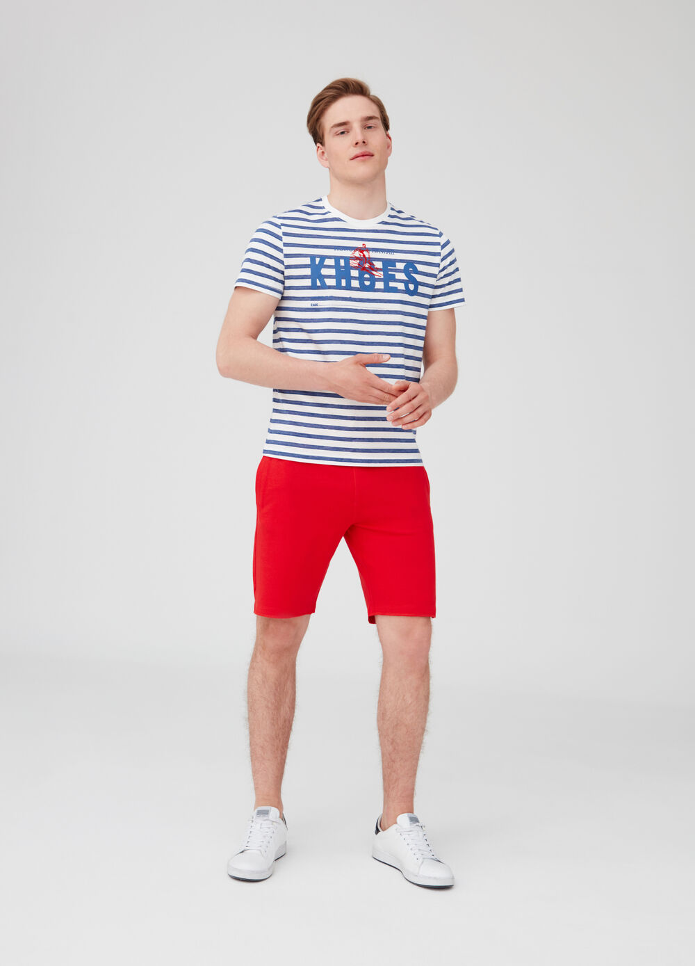 French Terry shorts with string and pockets