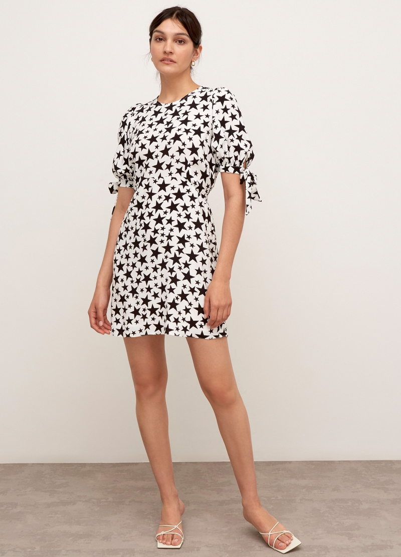 Nobody's Child mini dress with star pattern image number null