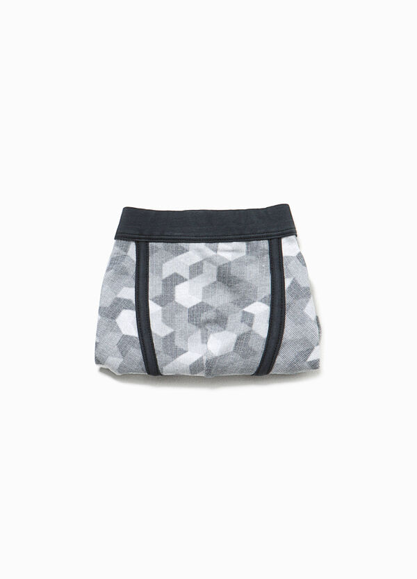 Organic cotton boxers with pattern | OVS