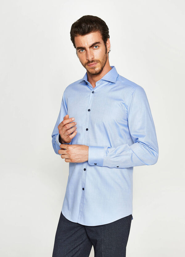 Camicia formale slim fit colletto francese | OVS