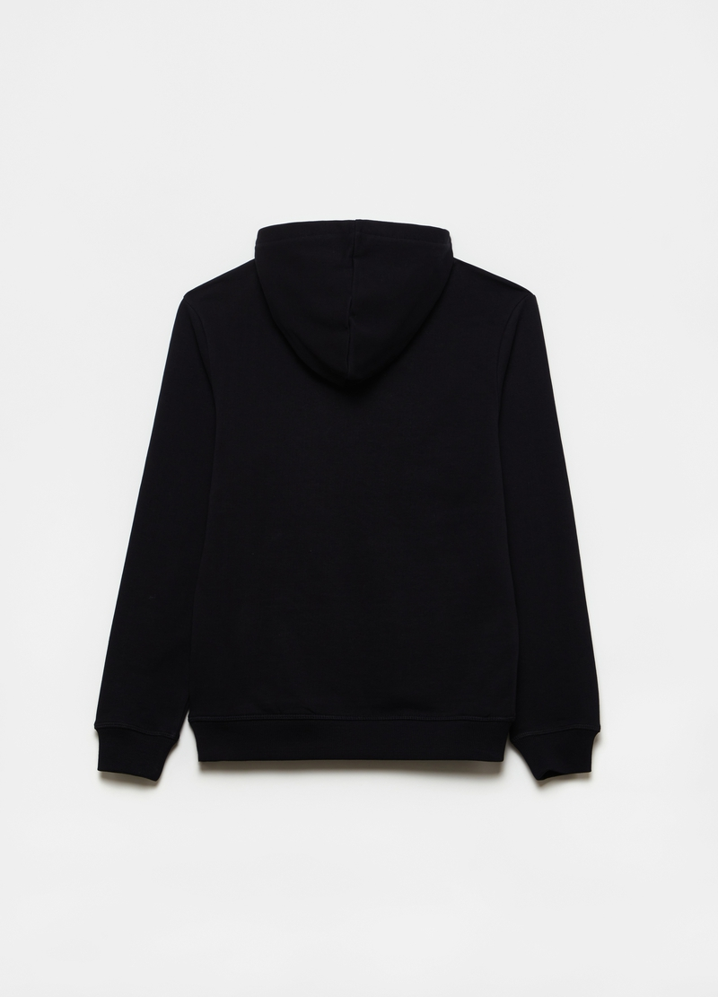 PlayStation sweatshirt in cotton with hood image number null
