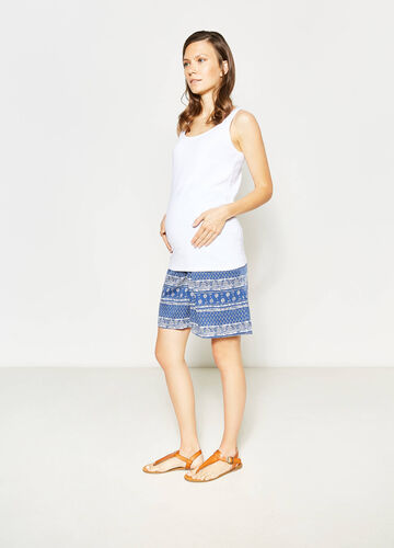Shorts in viscosa fantasia MUM