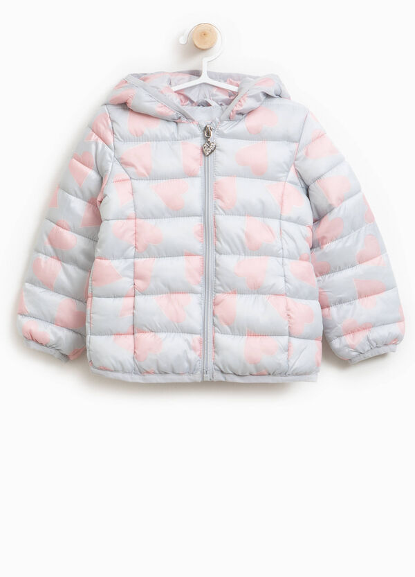 All-over heart print jacket | OVS
