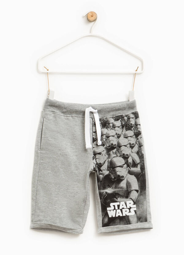 Star Wars print Bermuda shorts | OVS