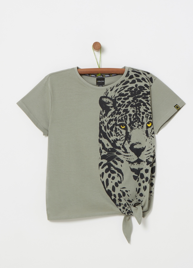 National Geographic cheetah T-shirt image number null