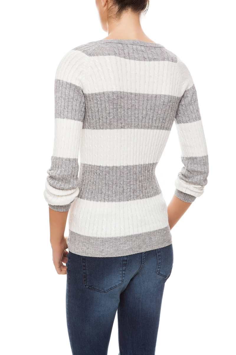 Pullover rigato image number null