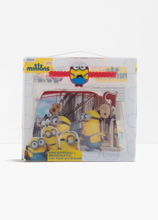 Minions case and bracelet set