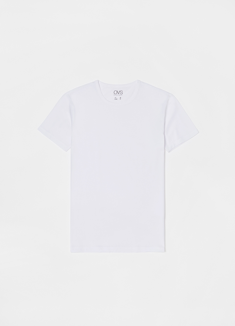 Two-pack undershirts with round neck image number null
