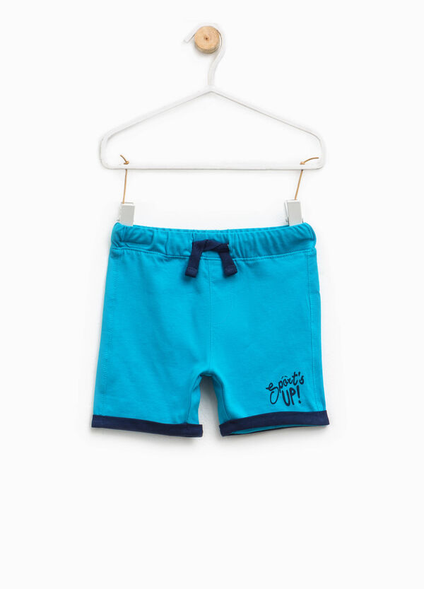 Shorts with contrasting turn-up | OVS