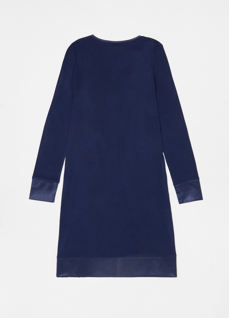 Solid colour 100% viscose nightdress image number null