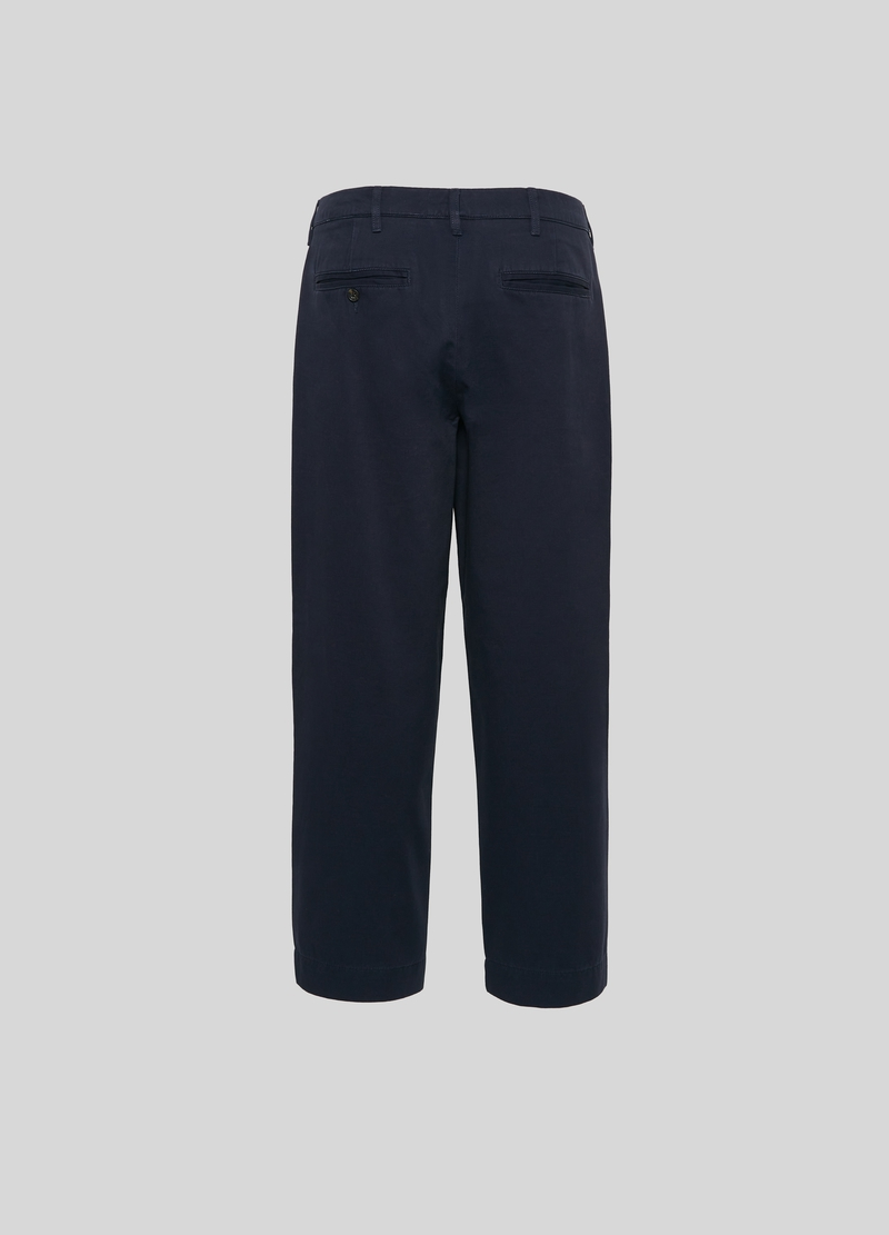 PIOMBO 100% cotton chino trousers image number null
