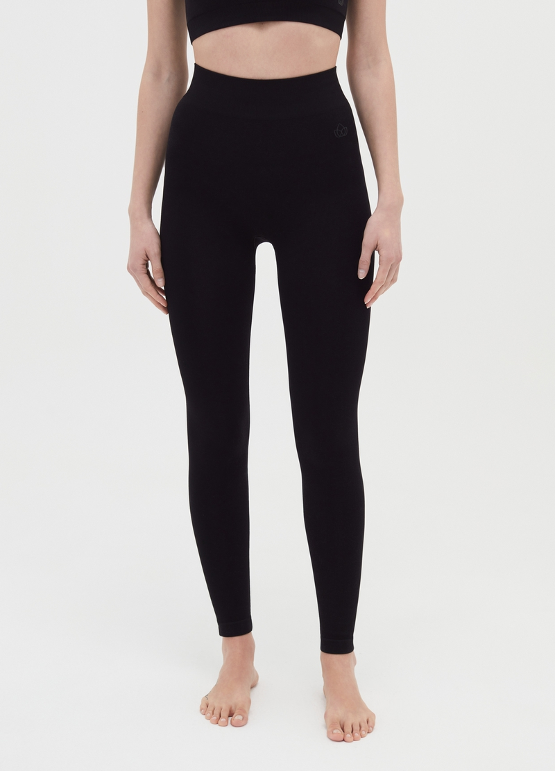 Seamless shaping leggings image number null