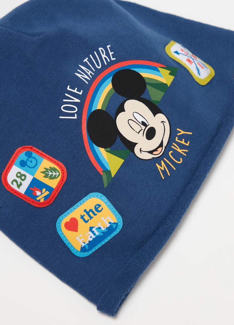 Hat with Disney Mickey Mouse print image number null