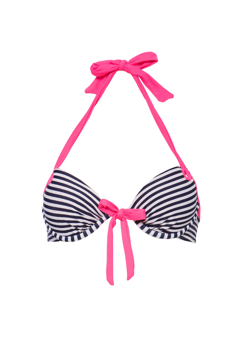Push-up stretch bra with underwire image number null