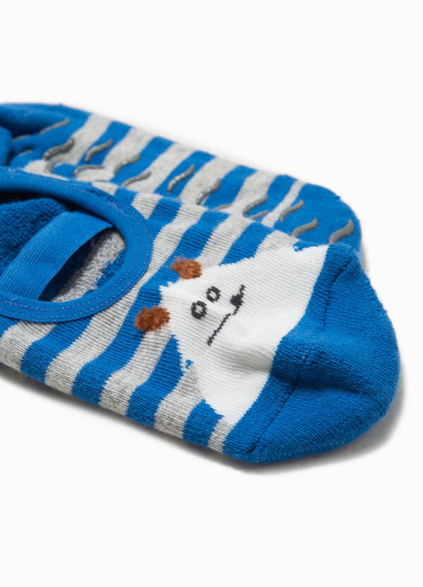 Slipper socks with embroidered monster | OVS