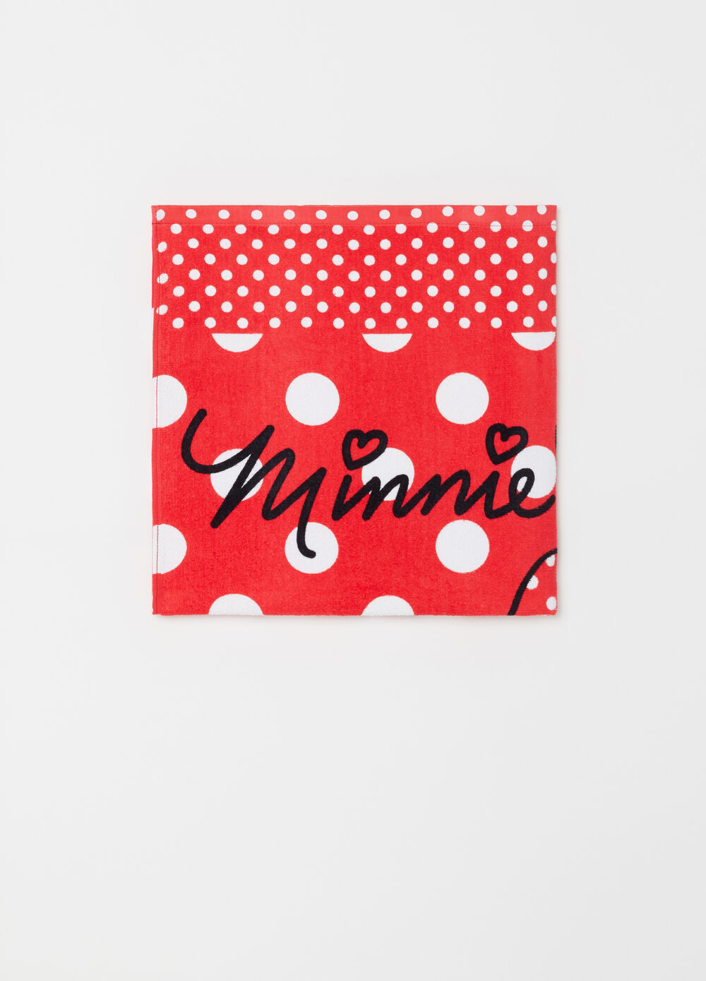 Disney Baby Minnie Mouse polka dot beach towel