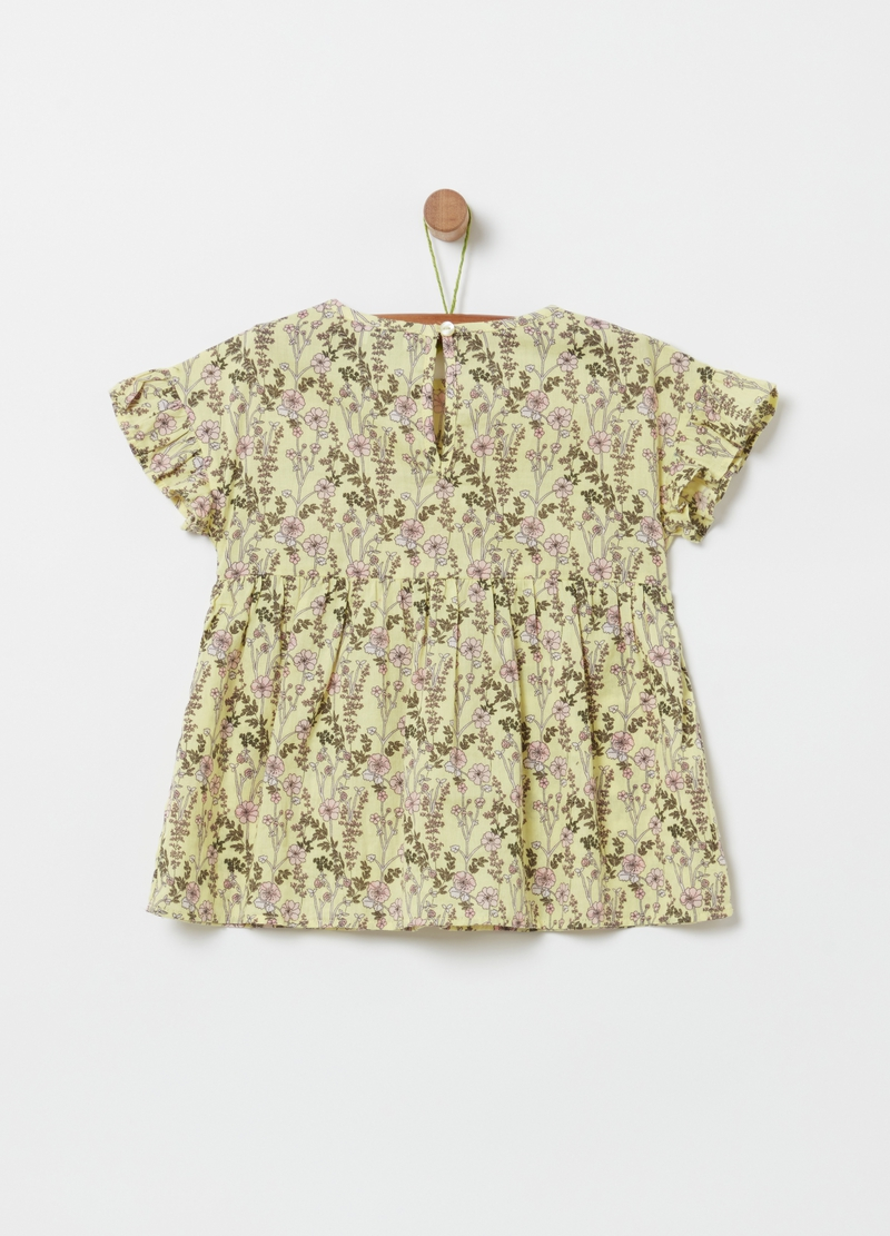 100% organic cotton floral blouse image number null