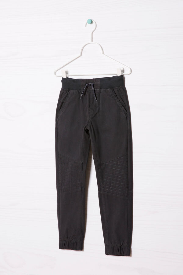 Mixed cotton trousers | OVS