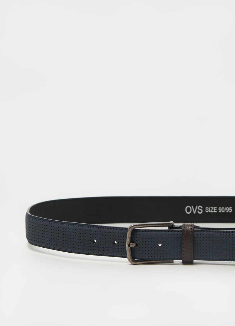 Belt with openwork weave image number null