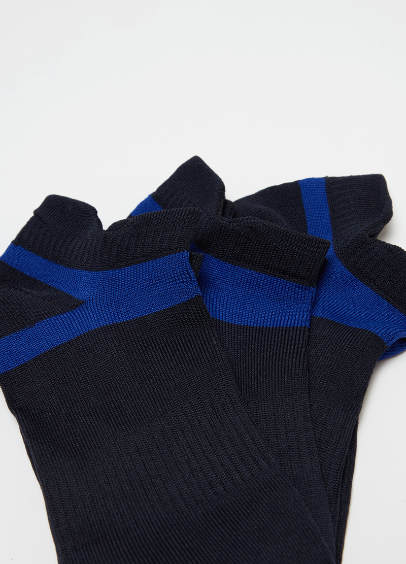 Three-pack sports socks in technical yarn image number null