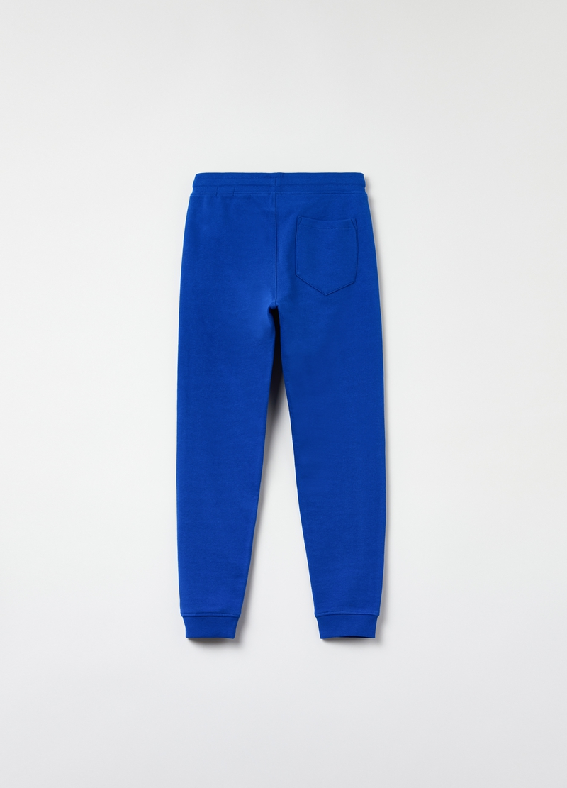 Joggers regular fit in cotone image number null
