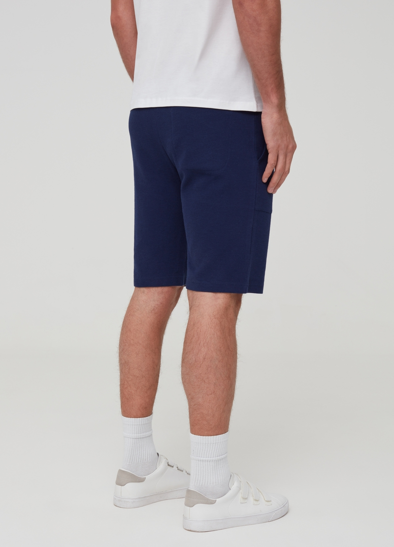 Short 100% cotton joggers image number null