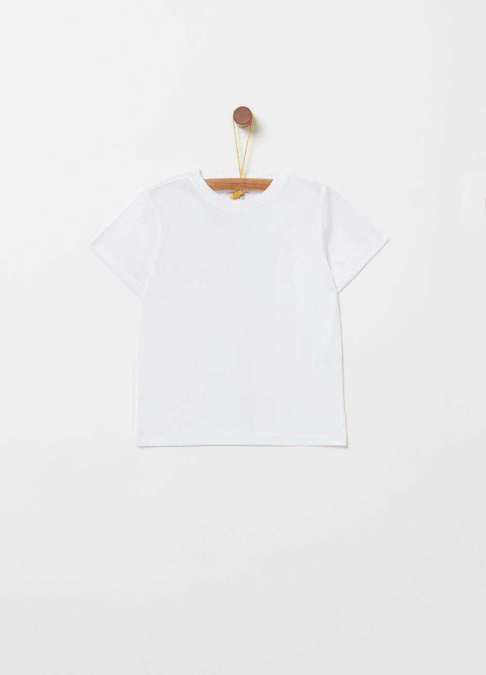 Biocotton T-shirt with round neck