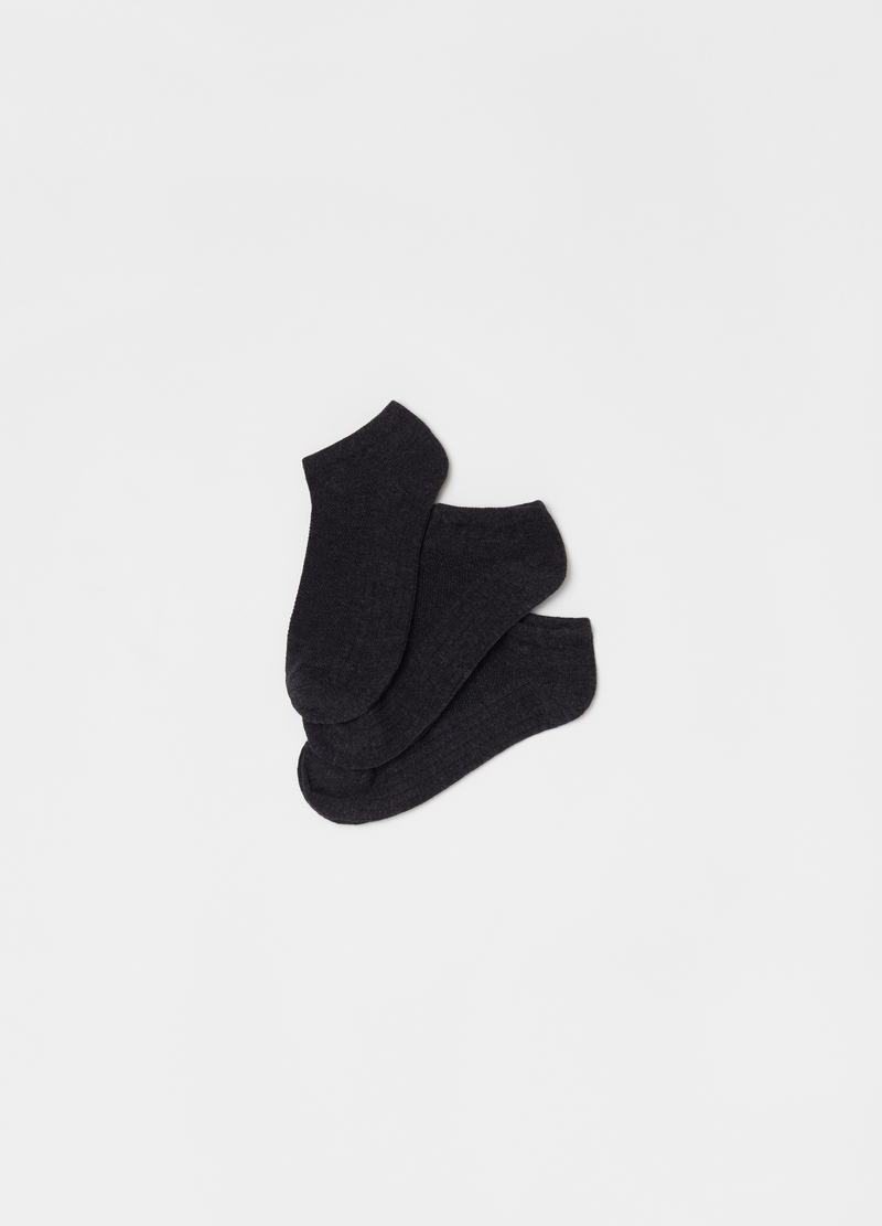 Three-pack stretch shoe liners image number null
