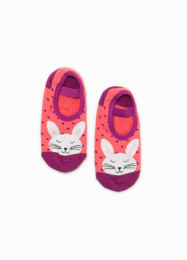 Rabbit embroidered slipper socks | OVS