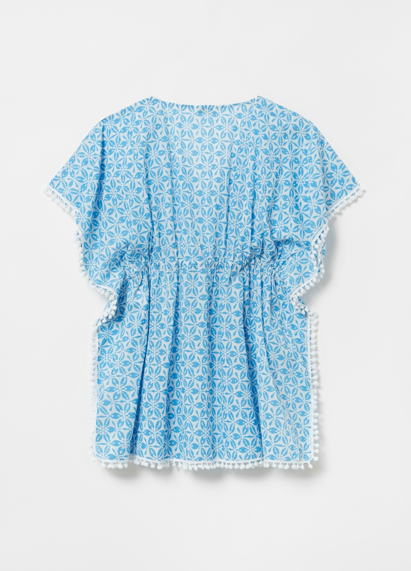 Beach poncho with all-over print image number null
