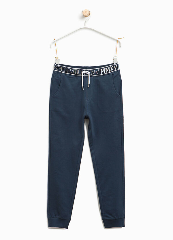 Joggers with printed waist | OVS
