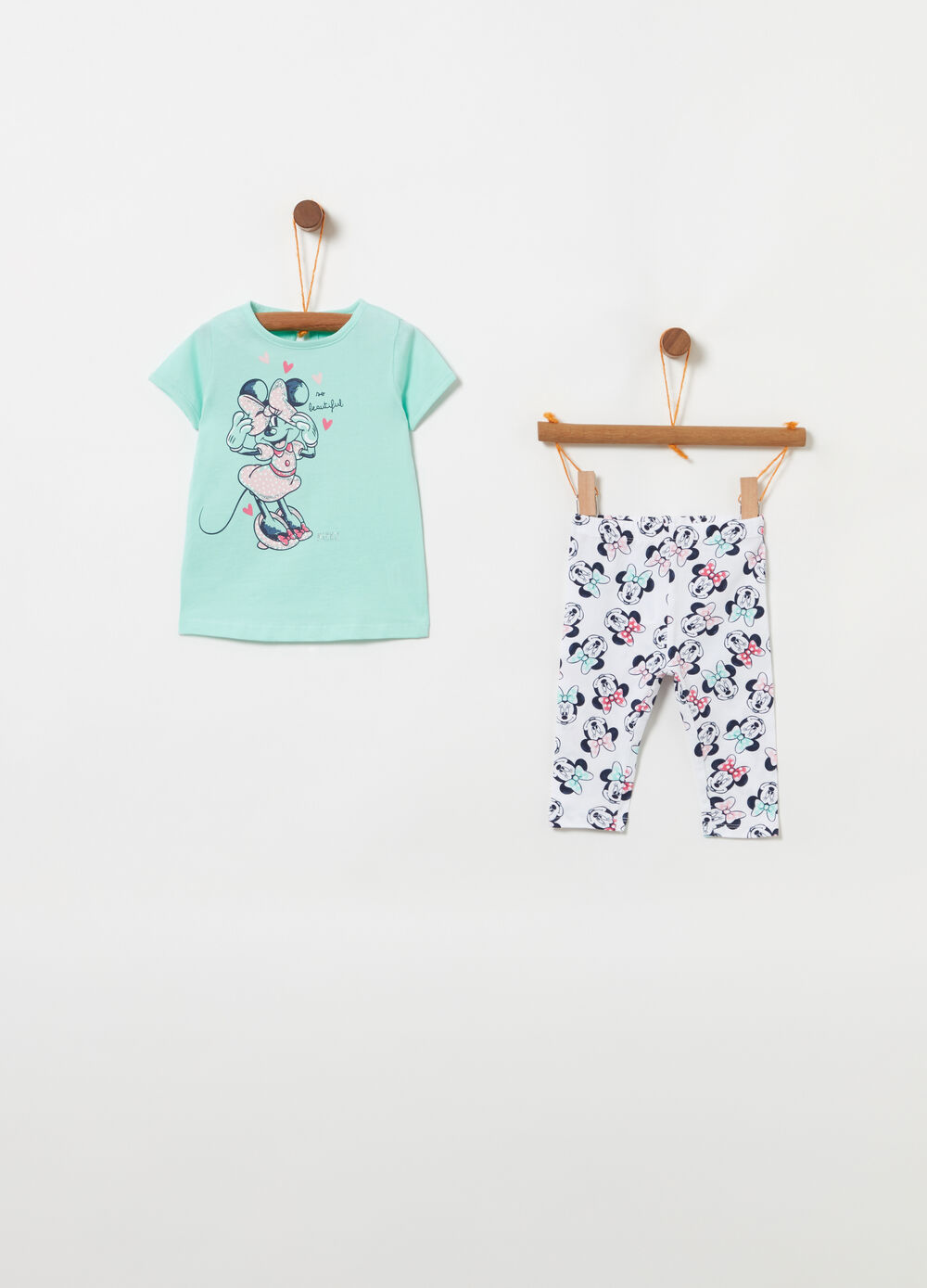 Jersey Mickey Mouse jogging set