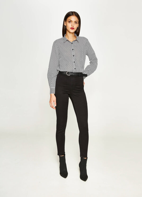 Jeans super skinny fit stretch a vita alta | OVS