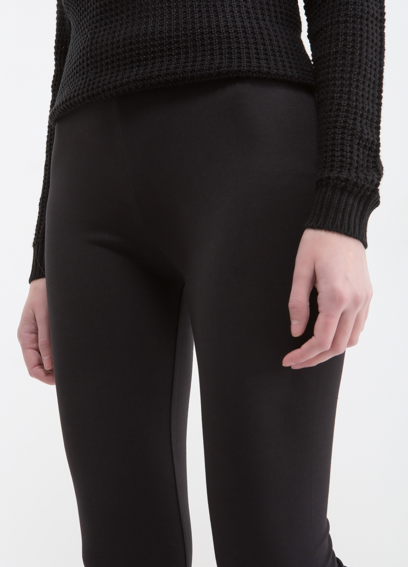 Leggings cotone stretch image number null