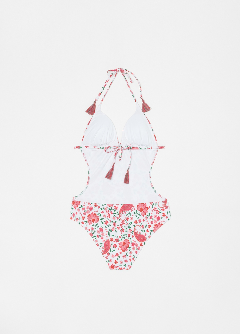 Paisley one-piece swimsuit image number null