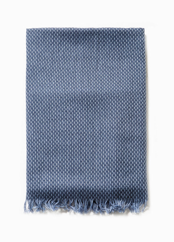 Patterned scarf in 100% cotton | OVS