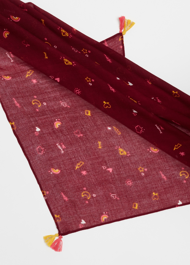 100% viscose pashmina with pattern image number null