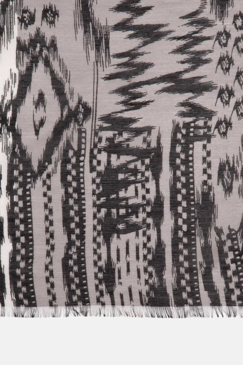 Ethnic-style viscose scarf image number null