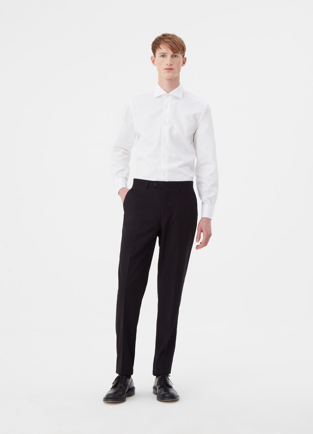 Regular-fit, stretch trousers