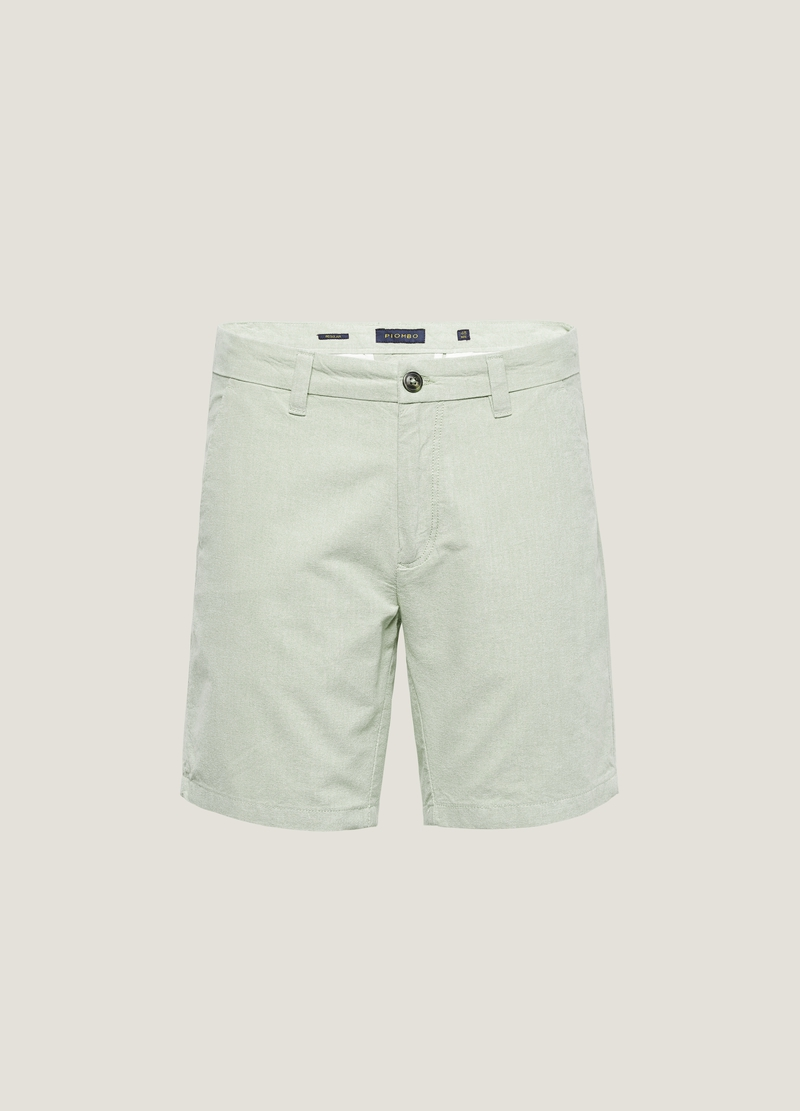 PIOMBO Bermuda chino in cotone image number null