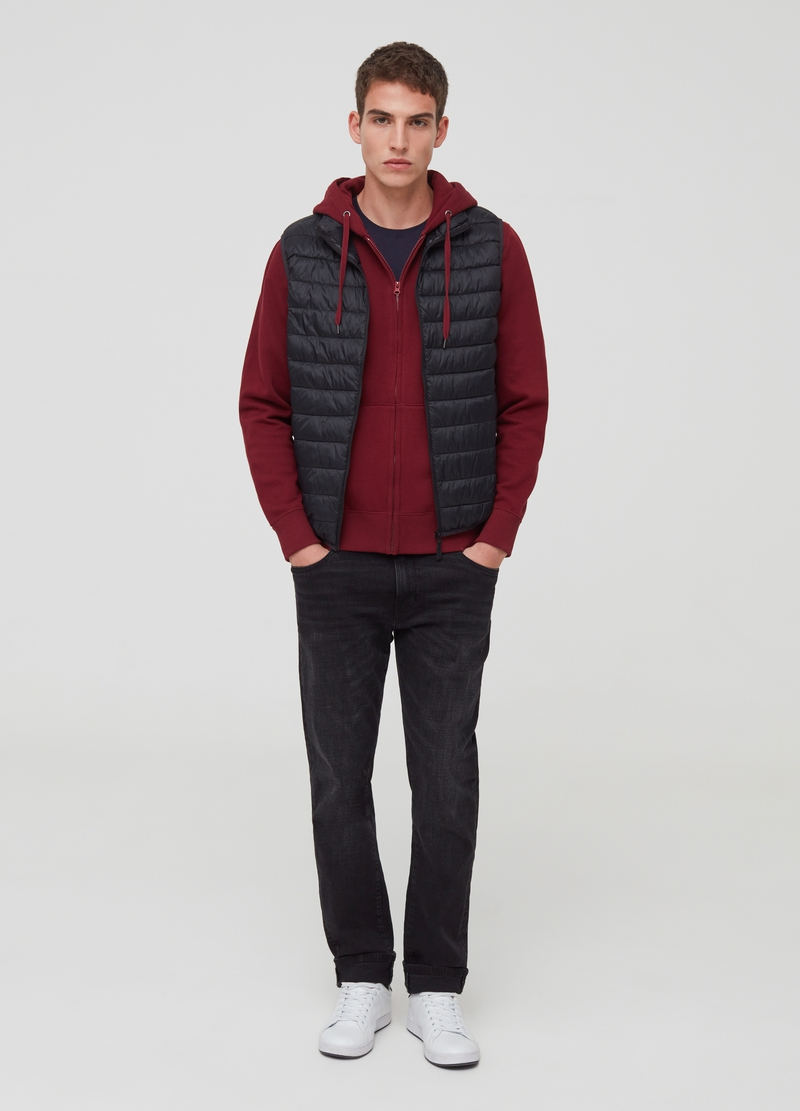 Full-zip quilted ultralight gilet image number null